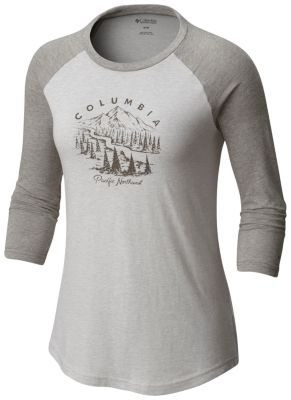 Women's Mount Tabor™ Baseball Tee - Plus Size at Columbia Sportswear in Daytona Beach, FL | Tuggl
