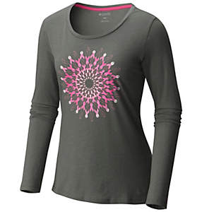 Women's Tested Tough in Pink™ Medallion Long Sleeve Tee