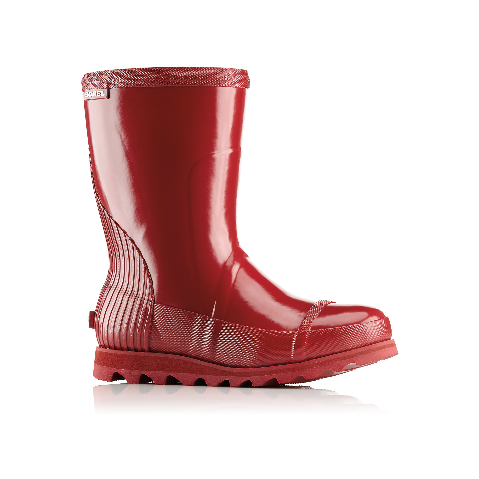 Sorel JOAN SHORT GLOSS RAIN BOOTS