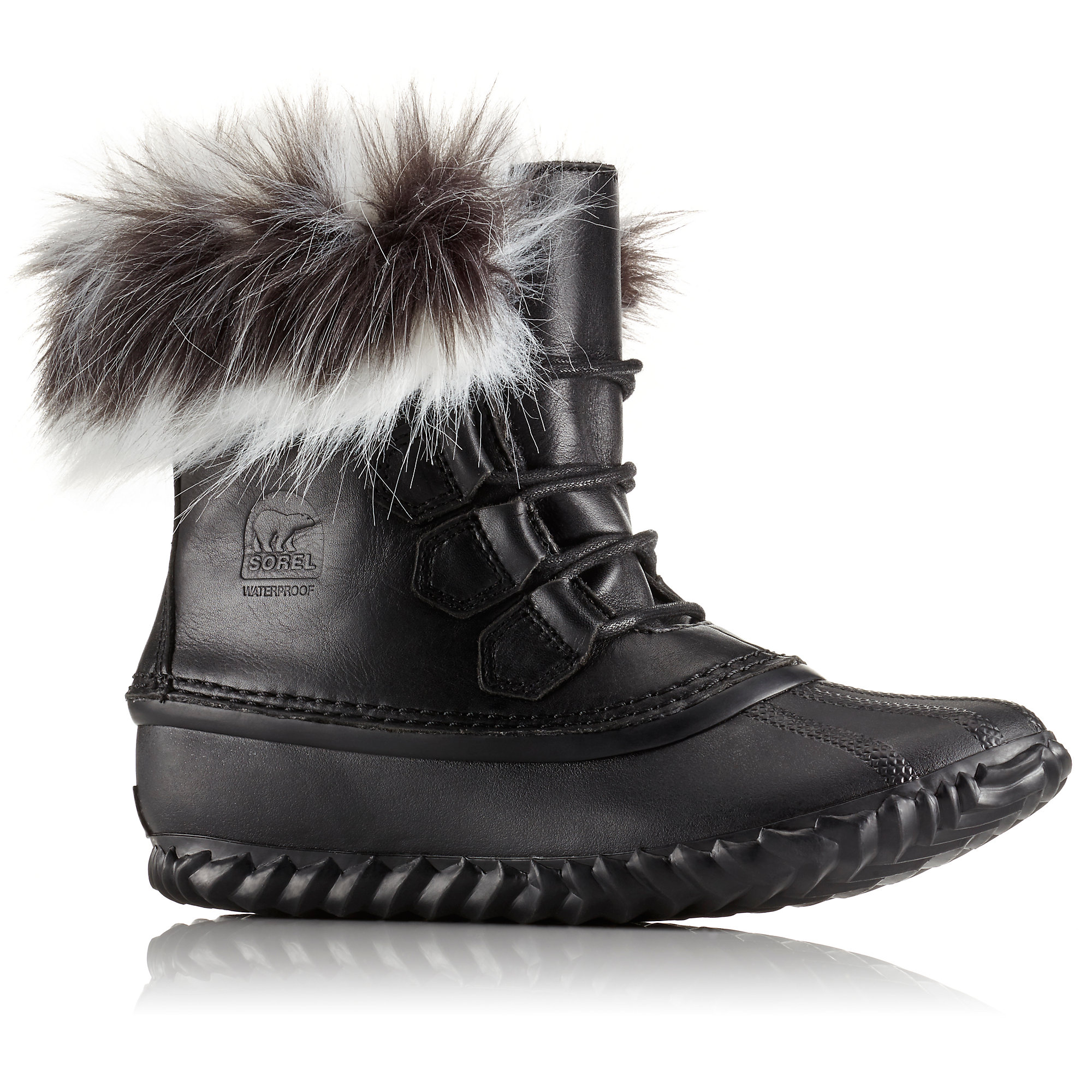 Sorel OUT N ABOUT FUR LUX BOOTS