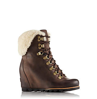 Bottine Compensée Shearling Conquest™ Femme