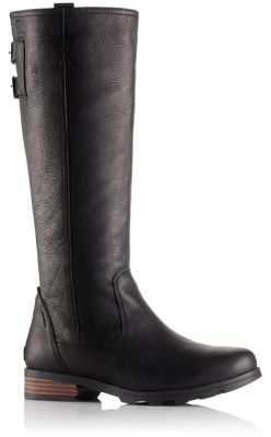 4d0197402e21ca Women's Emelie Tall Insulated Premium Waterproof Leather Riding Boot | SOREL