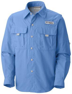 photo: Columbia Boys' Bahama Long Sleeve hiking shirt