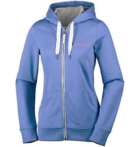Polar con capucha CSC Script Logo™ para mujer