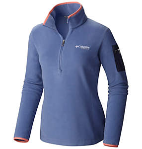Fleece con mezza zip Titan Pass™ 1.0 da donna