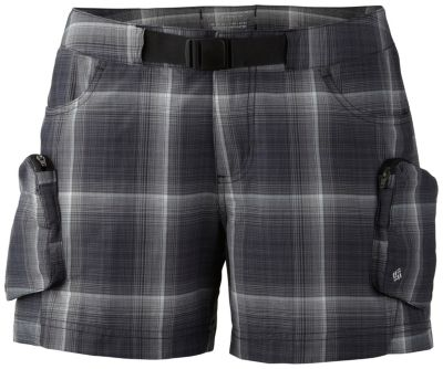 Women's Cross On Over™ Cargo Plaid Short