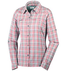 Silver Ridge™ Langarm-Hemd mit Karomuster für Damen