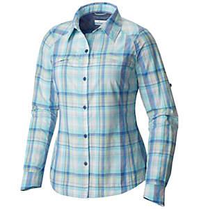 Camisa de manga larga de cuadros Silver Ridge™ para mujer