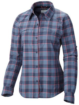 Women's Silver Ridge™ Plaid Long Sleeve Shirt at Columbia Sportswear in Daytona Beach, FL | Tuggl