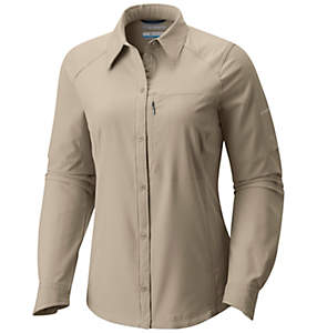 Silver Ridge™ Langarm-Hemd für Damen
