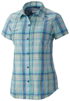photo: Columbia Women's Silver Ridge Multi Plaid Short Sleeve Shirt