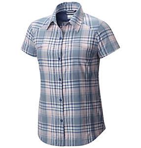 Camisa de manga corta a cuadros Silver Ridge™ para mujer