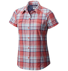 Women's Silver Ridge™ Multi Plaid Short Sleeve Shirt