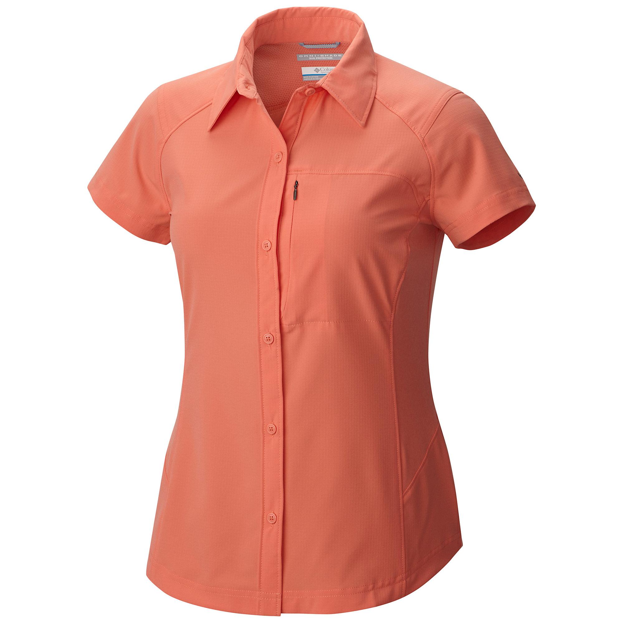 Chemise à manches courtes Silver Ridge™ Femme