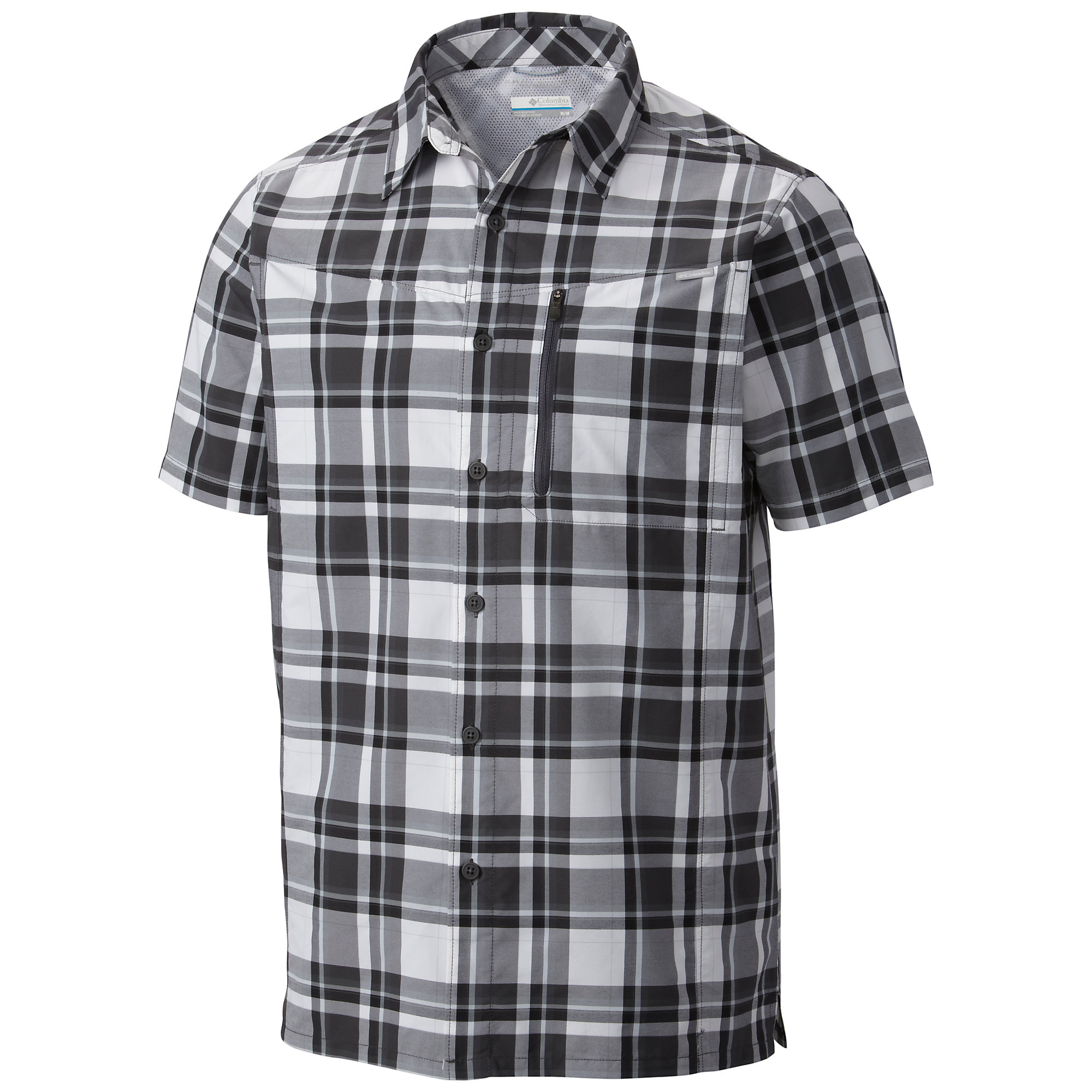 photo: Columbia Men's Silver Ridge Plaid Short Sleeve Shirt