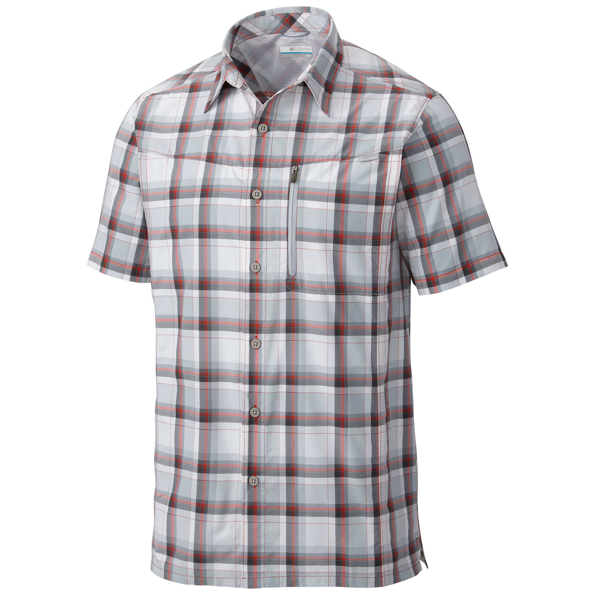 photo: Columbia Men's Silver Ridge Plaid Short Sleeve Shirt hiking shirt