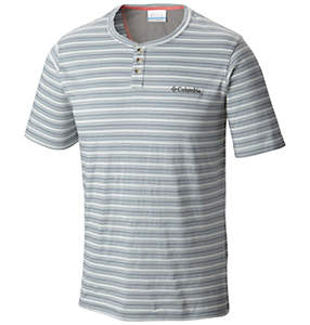 Men's Lookout Point Short Sleeve Henley