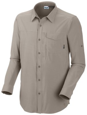 photo: Columbia Men's Global Adventure Roll-up Long Sleeve Shirt