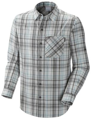photo: Columbia Men's Bug Shield Plaid Long Sleeve Shirt