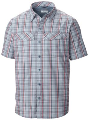 photo: Columbia Men's Silver Ridge Multi Plaid Short Sleeve Shirt hiking shirt