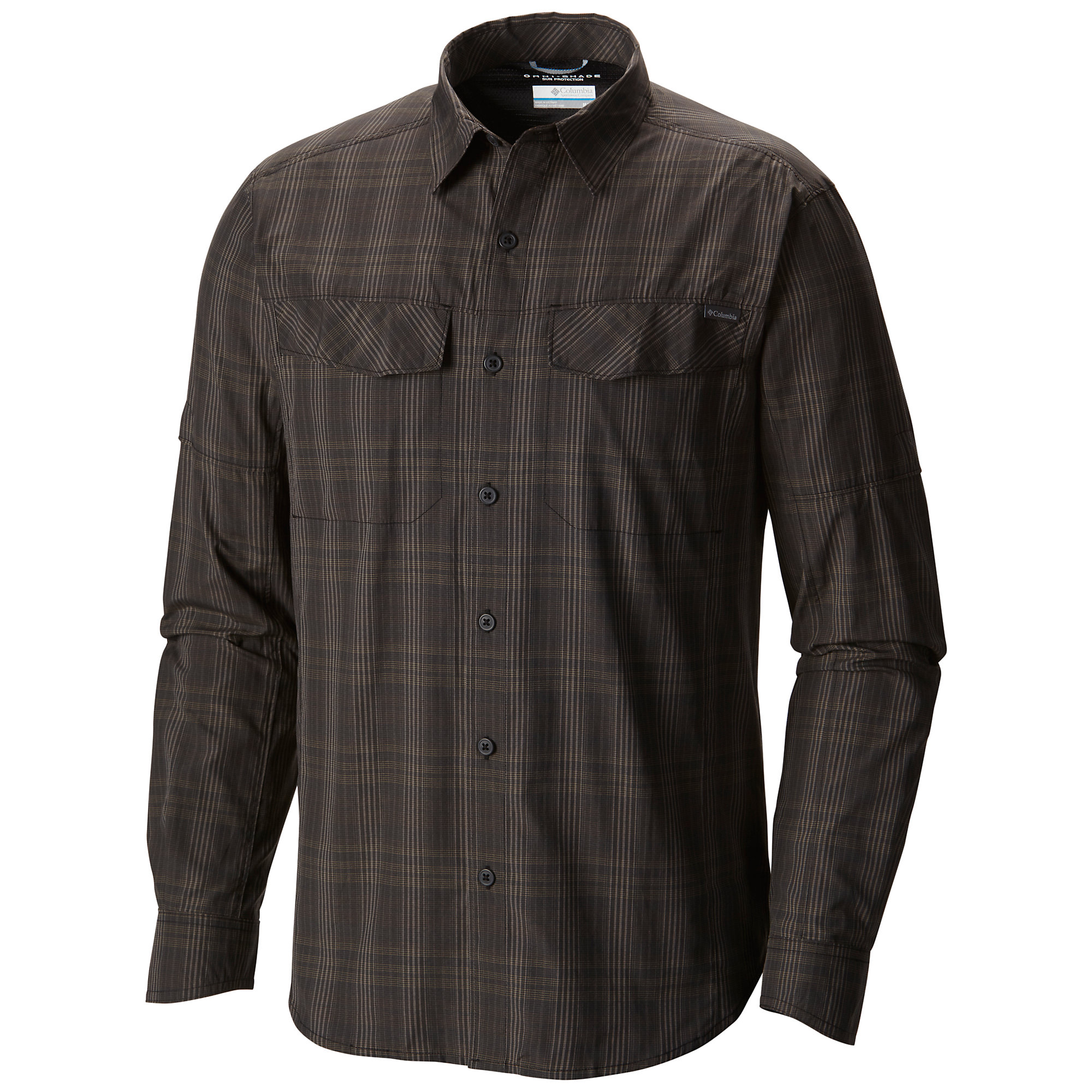 photo: Columbia Silver Ridge Plaid Long Sleeve Shirt hiking shirt