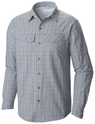 Men's Silver Ridge™ Plaid Long Sleeve Shirt | Columbia.com