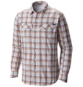 Chemise à manches longues à carreaux Silver Ridge ™ pour homme