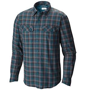 Camisa de manga larga a cuadros Silver Ridge™ para hombre