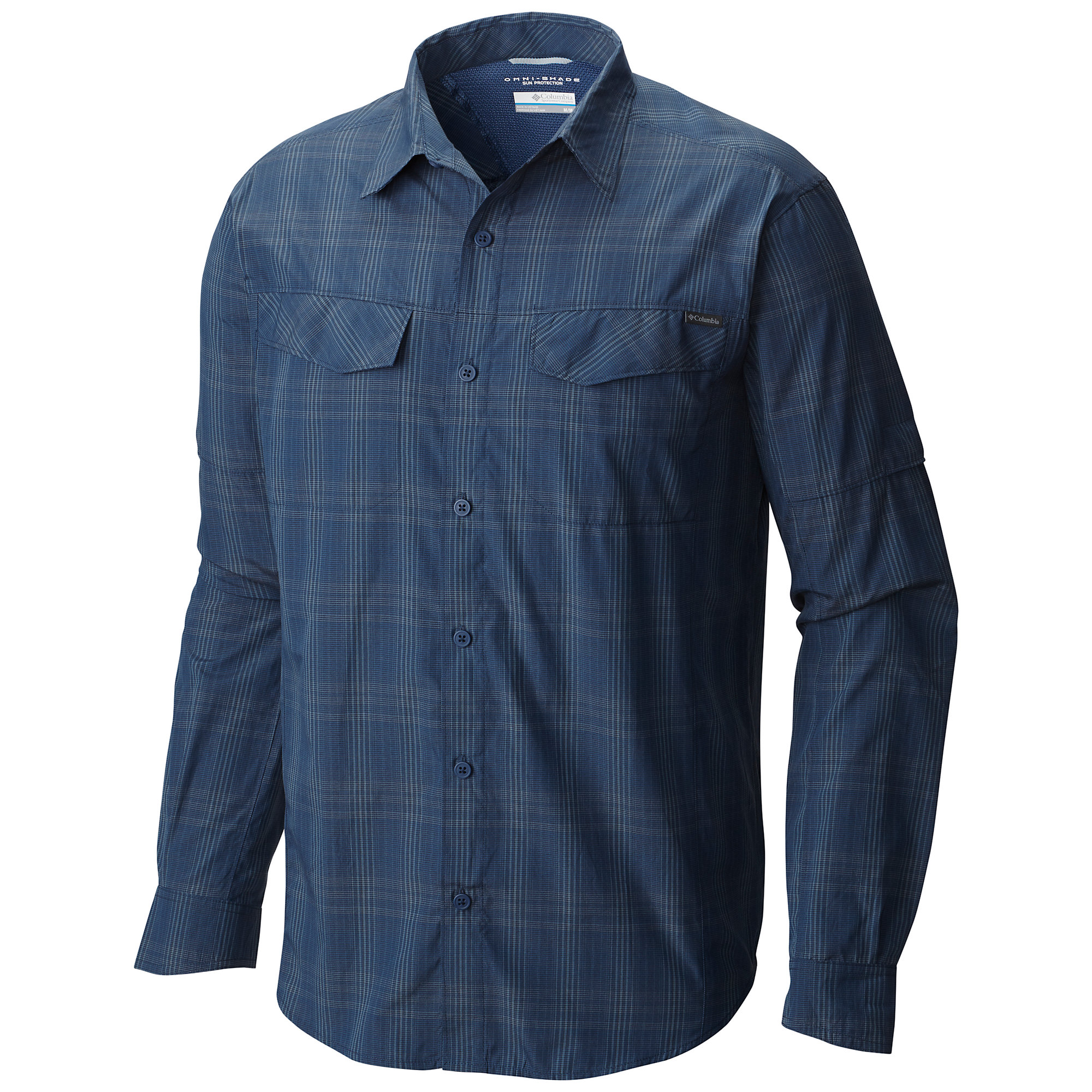 photo: Columbia Men's Silver Ridge Plaid Long Sleeve Shirt hiking shirt