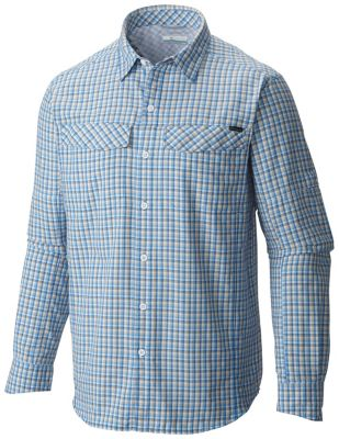 photo: Columbia Men's Silver Ridge Plaid Long Sleeve Shirt