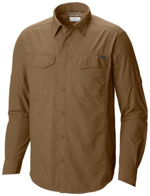 photo: Columbia Men's Silver Ridge Long Sleeve Shirt hiking shirt