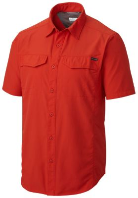 photo: Columbia Men's Silver Ridge Short Sleeve Shirt hiking shirt