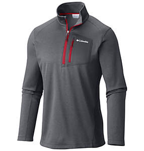 Men's Jackson Creek™ Half Zip Fleece Long Sleeve Shirt