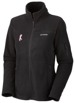 Women's Tested Tough In Pink™ Fast Trek Full Zip — Extended Size