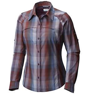 Women's Silver Ridge™ Plaid Long Sleeve Shirt - Extended Size