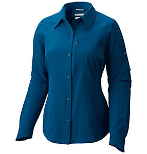 Women's Silver Ridge™ Long Sleeve Shirt - Plus Size