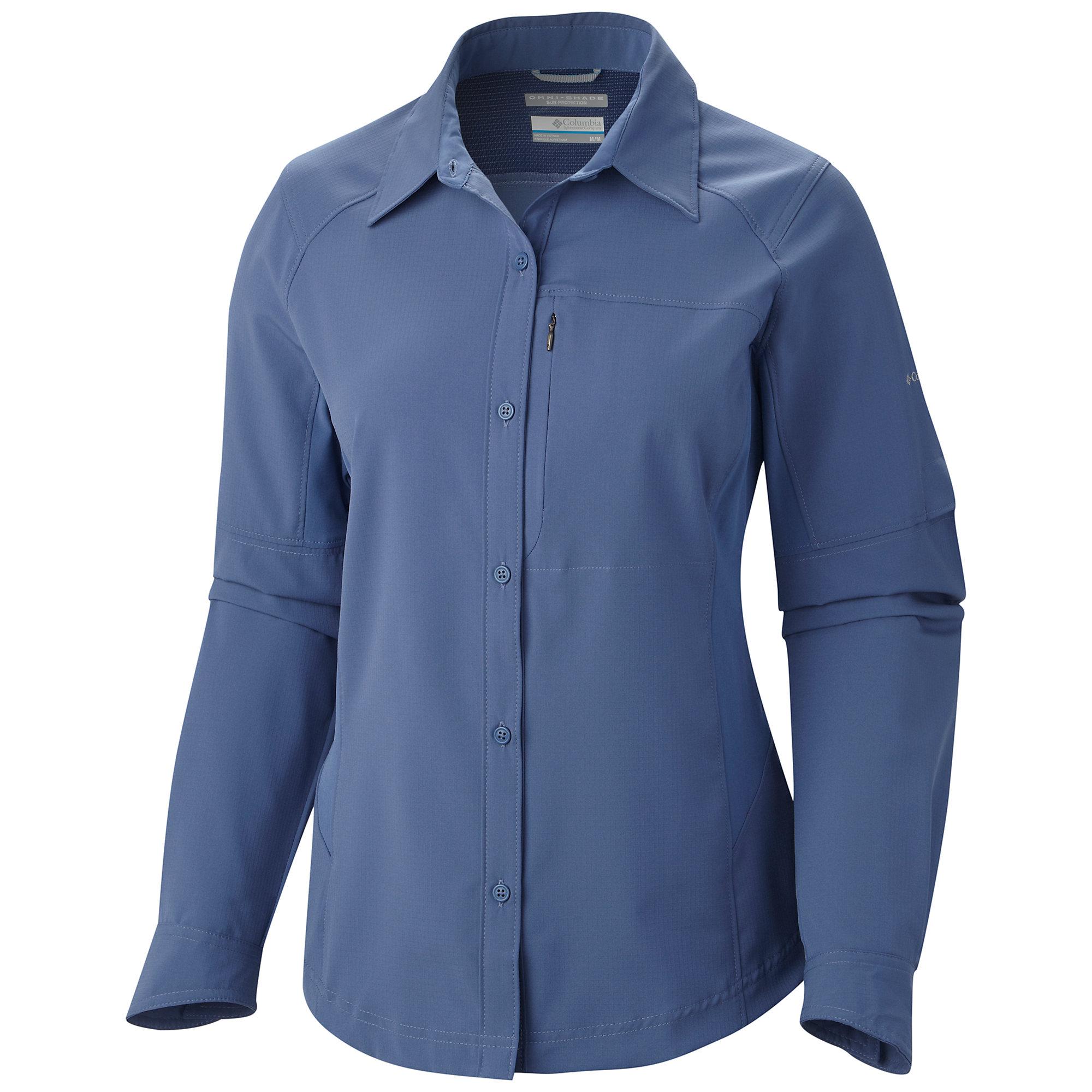 photo: Columbia Women's Silver Ridge Long Sleeve Shirt