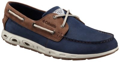 Men's Bonehead™ Vent Leather PFG Boat Shoe