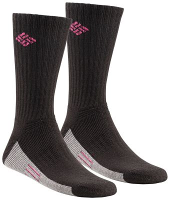 Columbia Womens Cushioned Crew Sock 2 Pack image