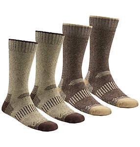 Men's Moisture Control Crew Sock - 4 Pack