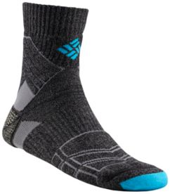 Men's Premium Medium-Weight Merino Hiking Quarter Sock