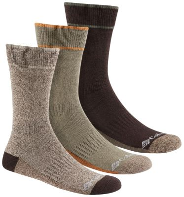 Columbia Cushioned Cotton/Poly Crew Sock