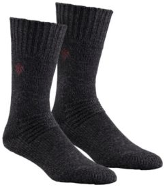 Men's Brushed Wool Crew Sock - 2 Pack