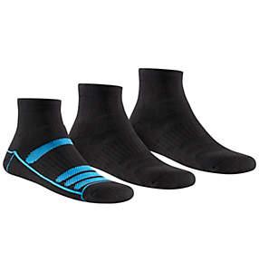 Men's Athletic Cushioned Quarter Length Sock - 3 Pack