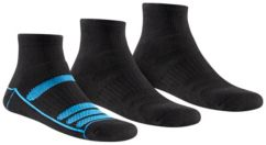 Men's Athletic Cushioned Quarter Length Sock - 3 Pack