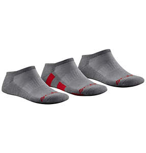 Men's Half Cushion No Show Sock - 3 Pack