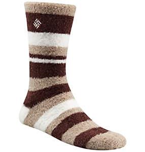 Women's Cozy Stripe Crew Sock