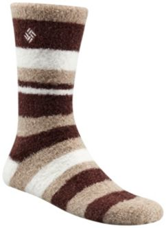 Women's Cozy Stripe Crew Sock