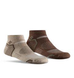 Men's Balance Point Walking Low Sock - 2 pack