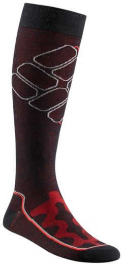 Shadow Logo Over-The-Calf Super-Light Ski Sock